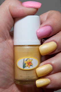 The Nail Junkie's Spring Matte Pastel - Daffodil