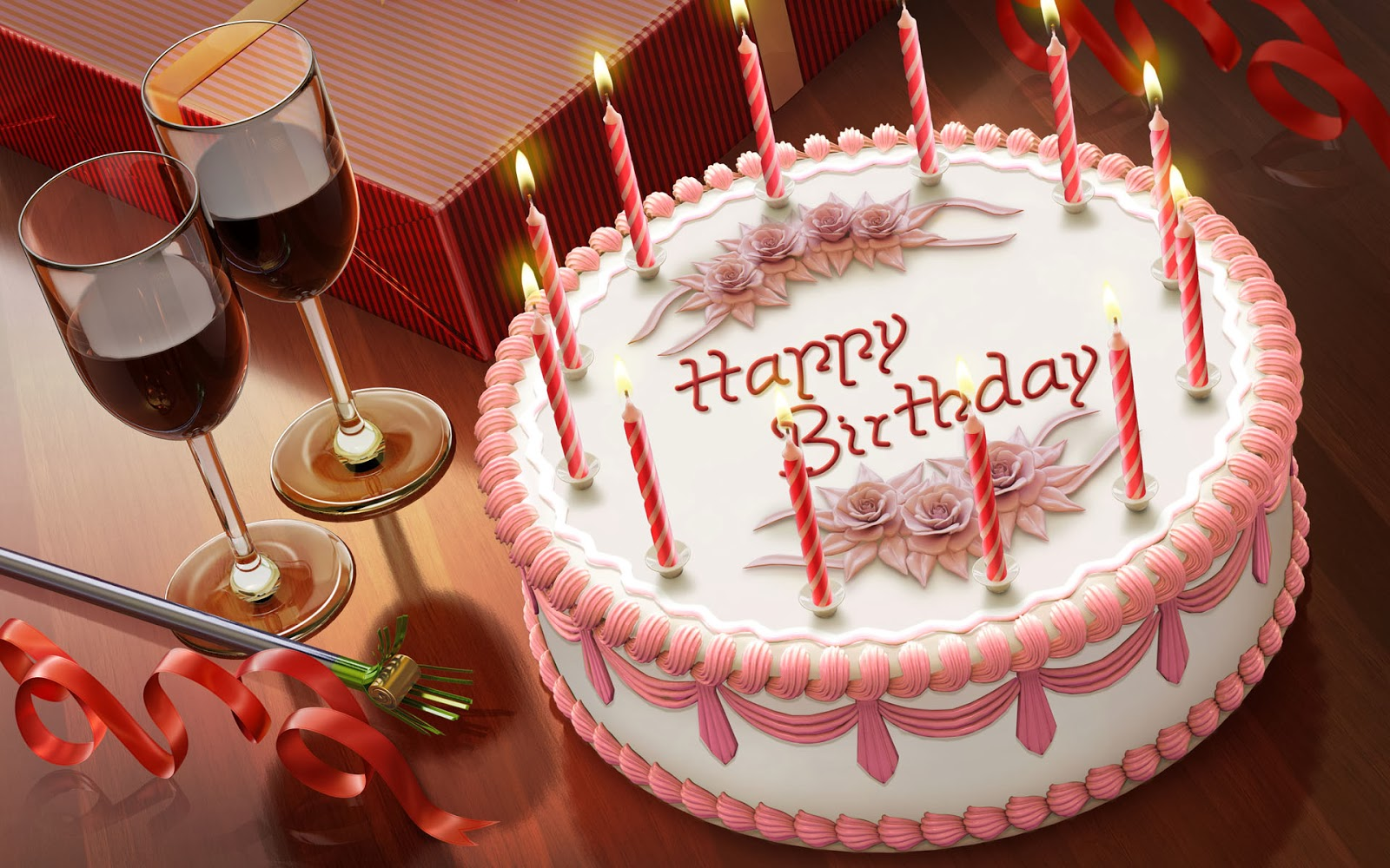 all new wallpaper happy birthday cake wallpaper