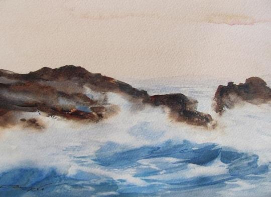 Mar Agitado II