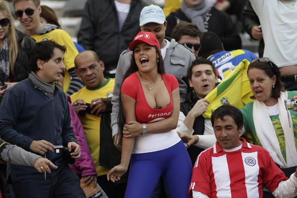Paraguay Soccer Fans