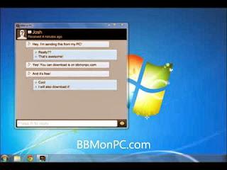 Cara Instal Blackberry Massenger BBM di PC