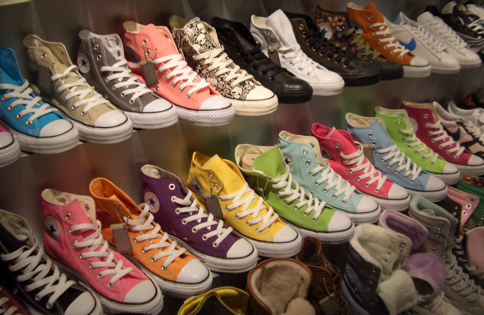 converse shoes popularity