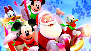 Free Download Mickey Santa Christmas Wallpaper