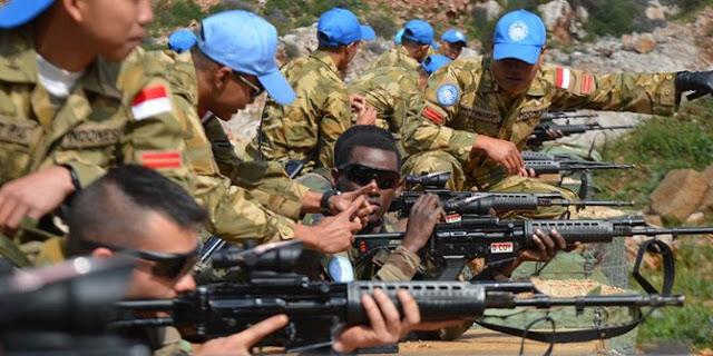 Aksi-aksi Pasukan Garuda menuai simpati masyarakat di daerah konflik