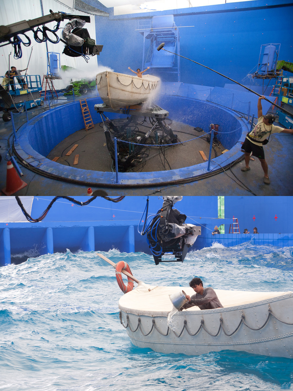 The visual secret of life of pi silent majority for Life of pi swimming pool