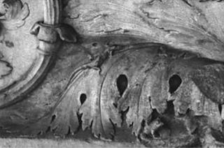 Particolare di un bassorilievo dell'Ara Pacis Augustae