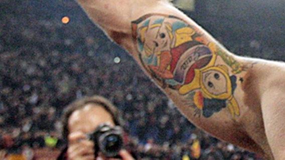 daniele de rossi tattoo euro 2012 tattoos photo gallery