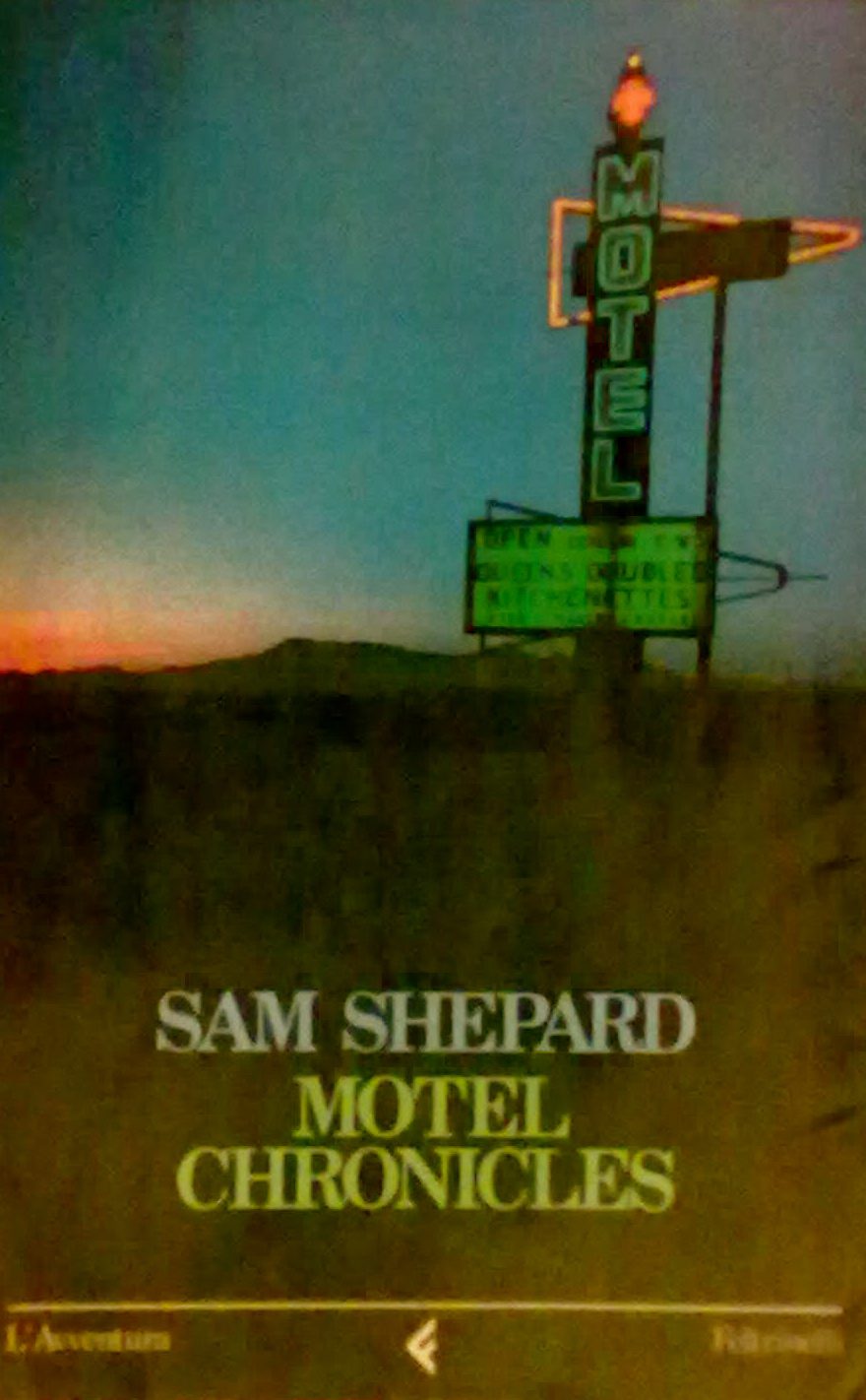 sam shepard motel chronicles pdf