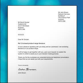 Ollyfia's Primbon: 7. Bussiness Letter