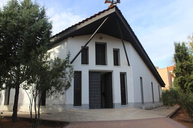 Fachada de San Juan bautista de Puertollano