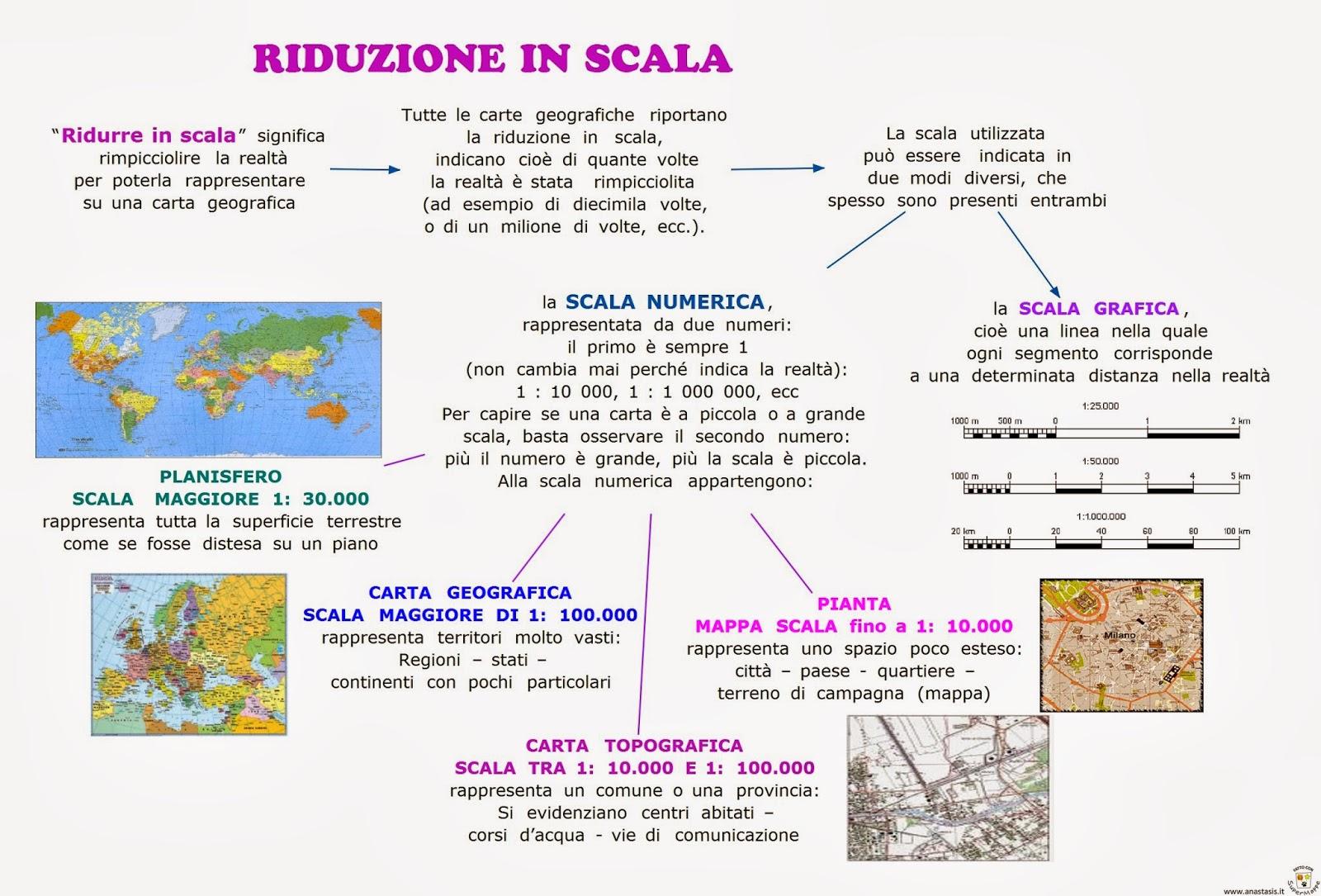 paradiso delle mappe riduzione in scala
