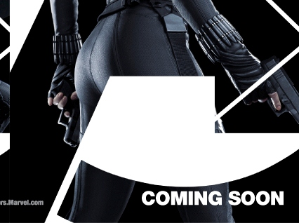 New The Avengers Character Posters Show Off Black Widows Backside