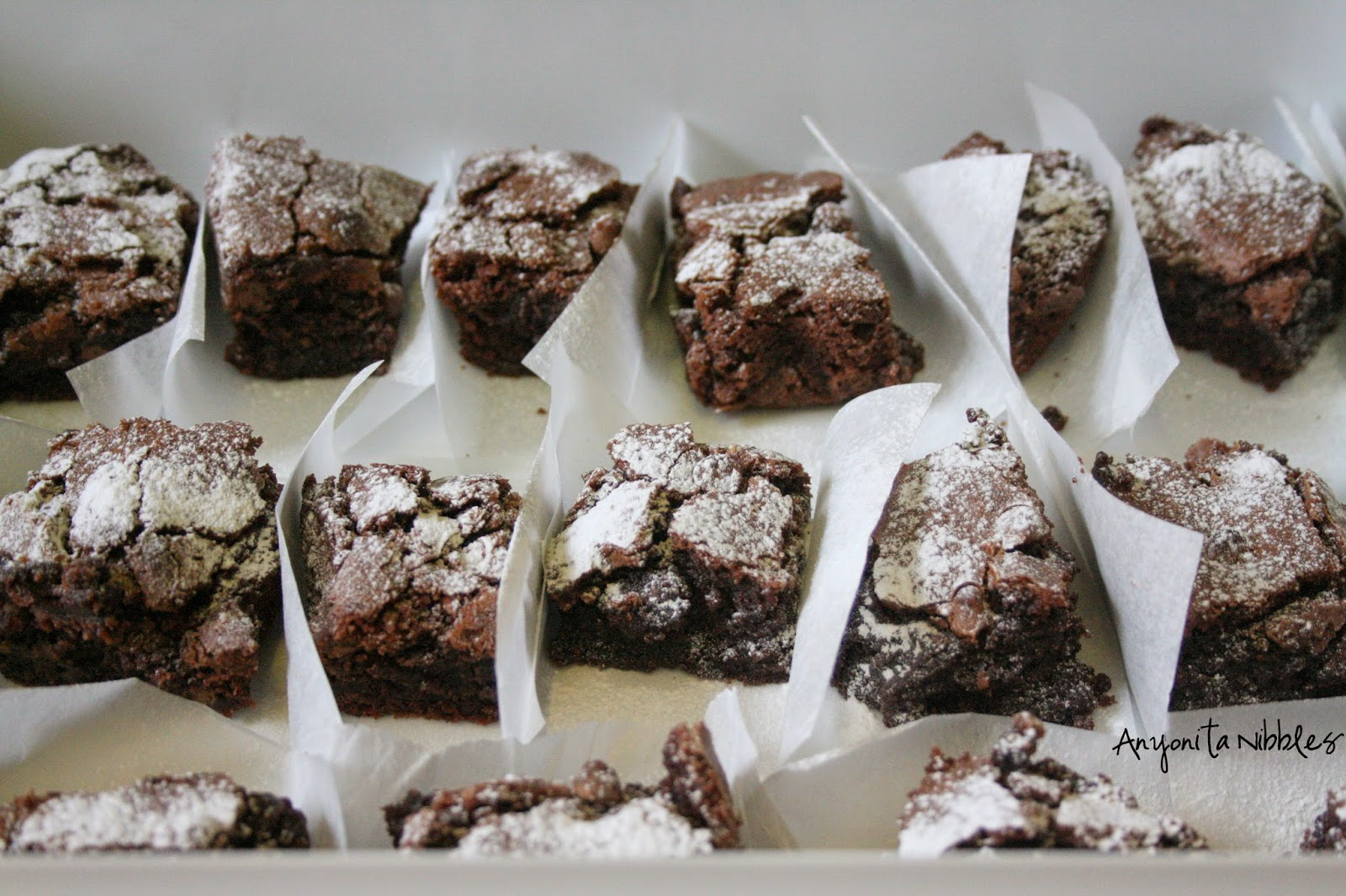 Brownies ready for selling from Anyonita Nibbles