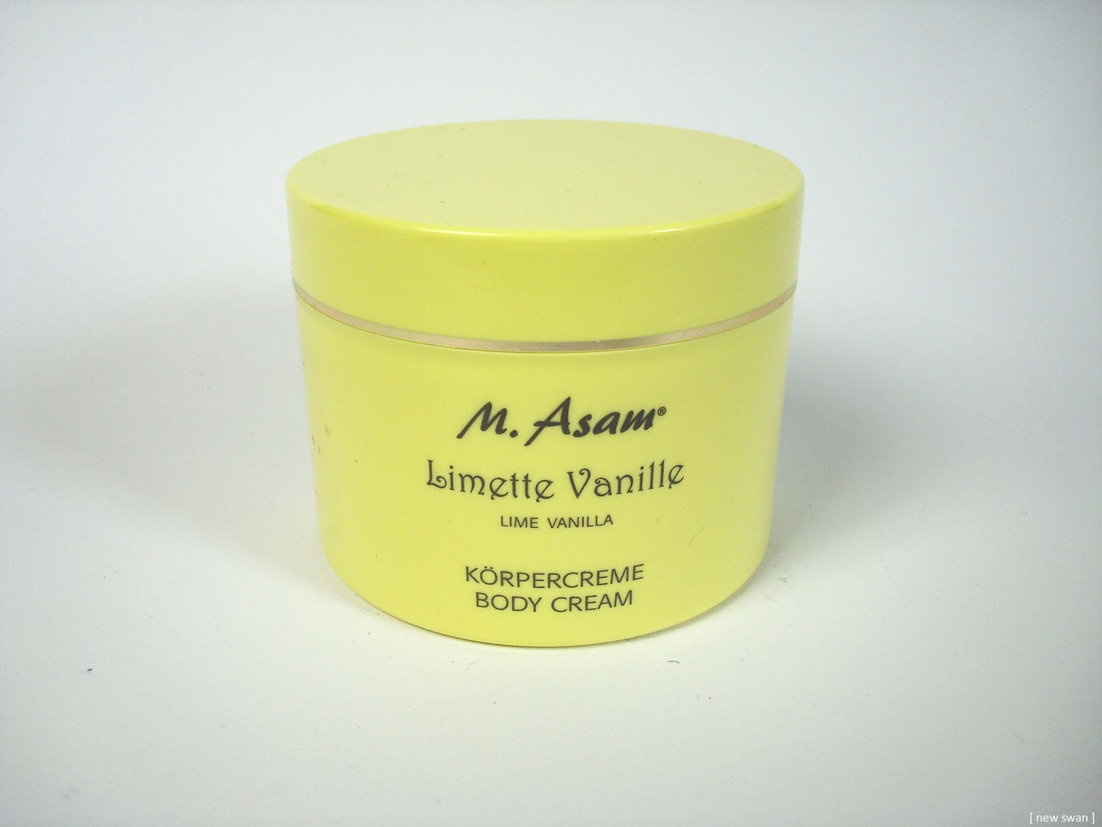 Limette Vanille Körperceme von M. Asam