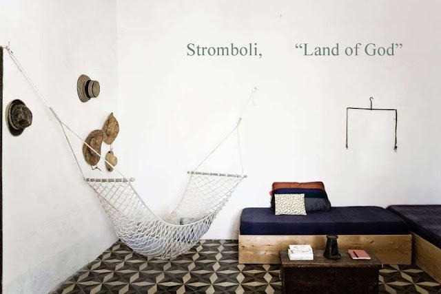 Casa dei Poeti, Stromboli hamaca hydraulic floor
