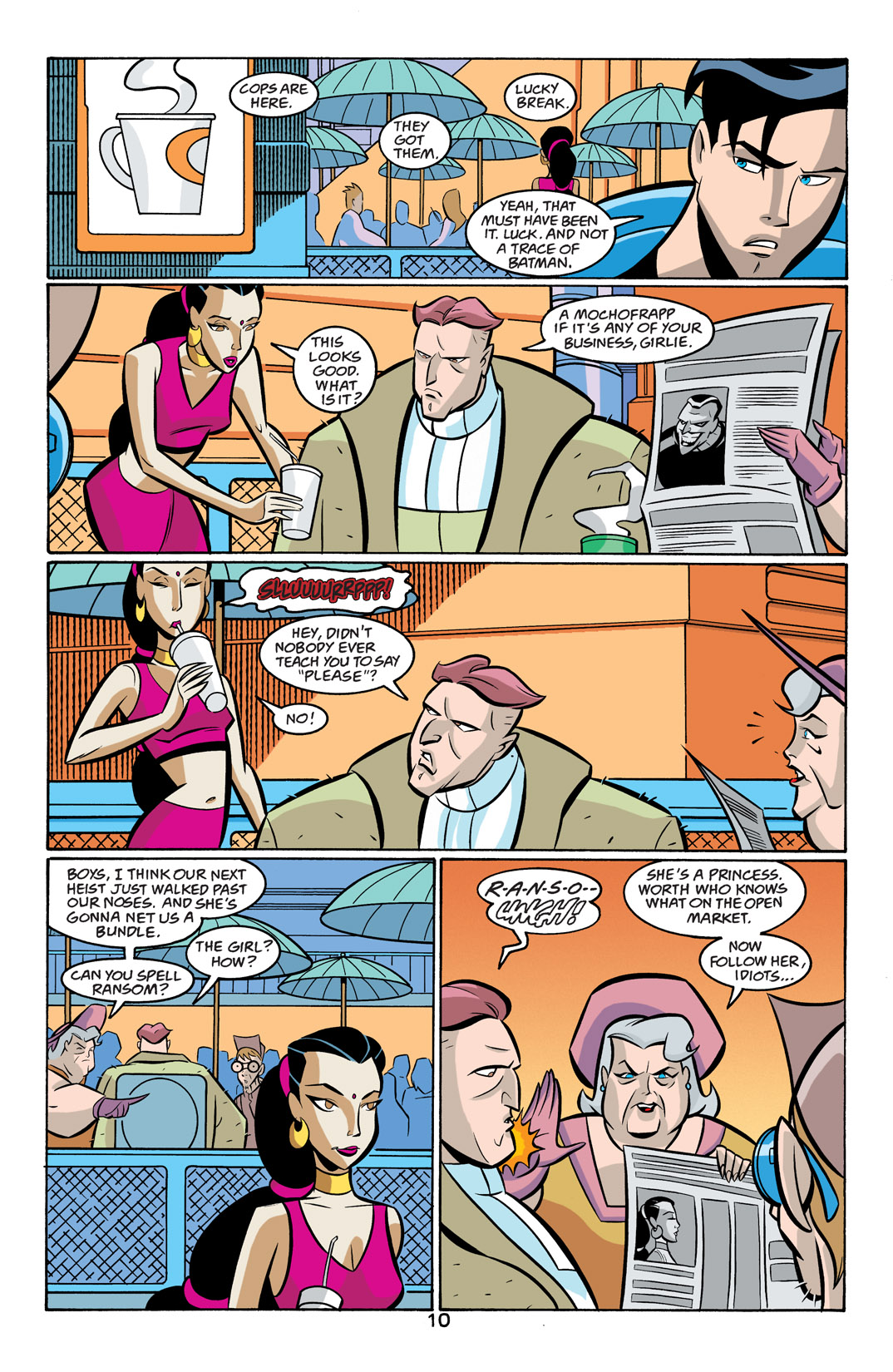 Batman Beyond [II] Issue #19 #19 - English 11