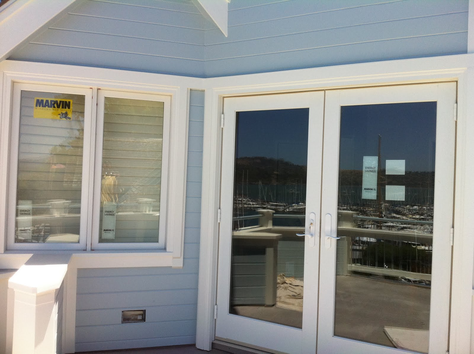 Marvin windows and doors sausalito project ot glass for Marvin transom windows
