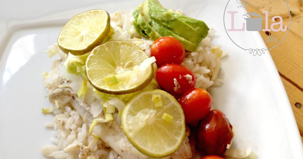 Pescado con mayonesa y cebolla al horno la lola dice for Como cocinar pescado al horno