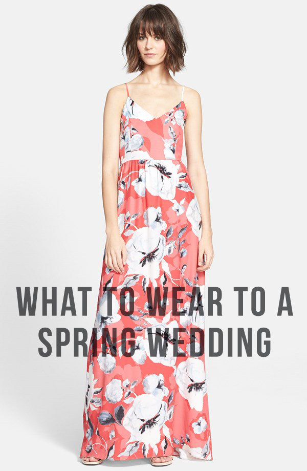 what to wear to a spring wedding Holy City Chic