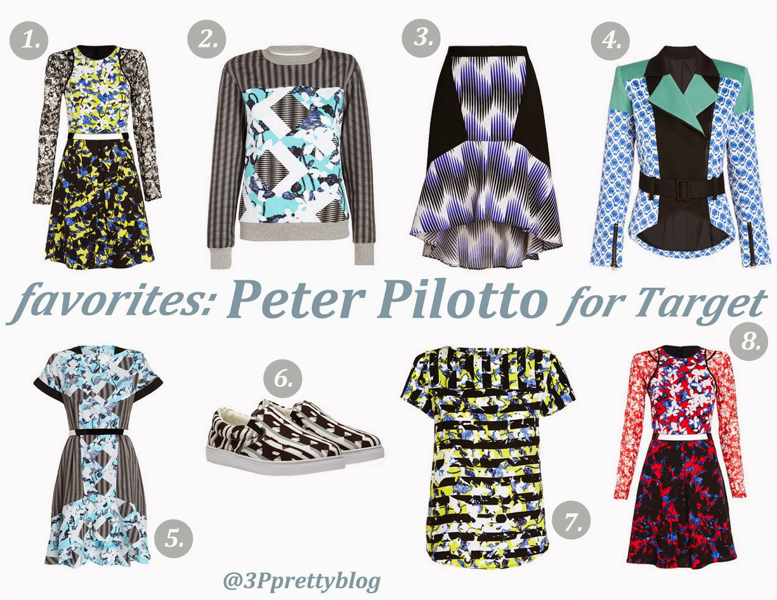 Peter Pilotto for Target favorites