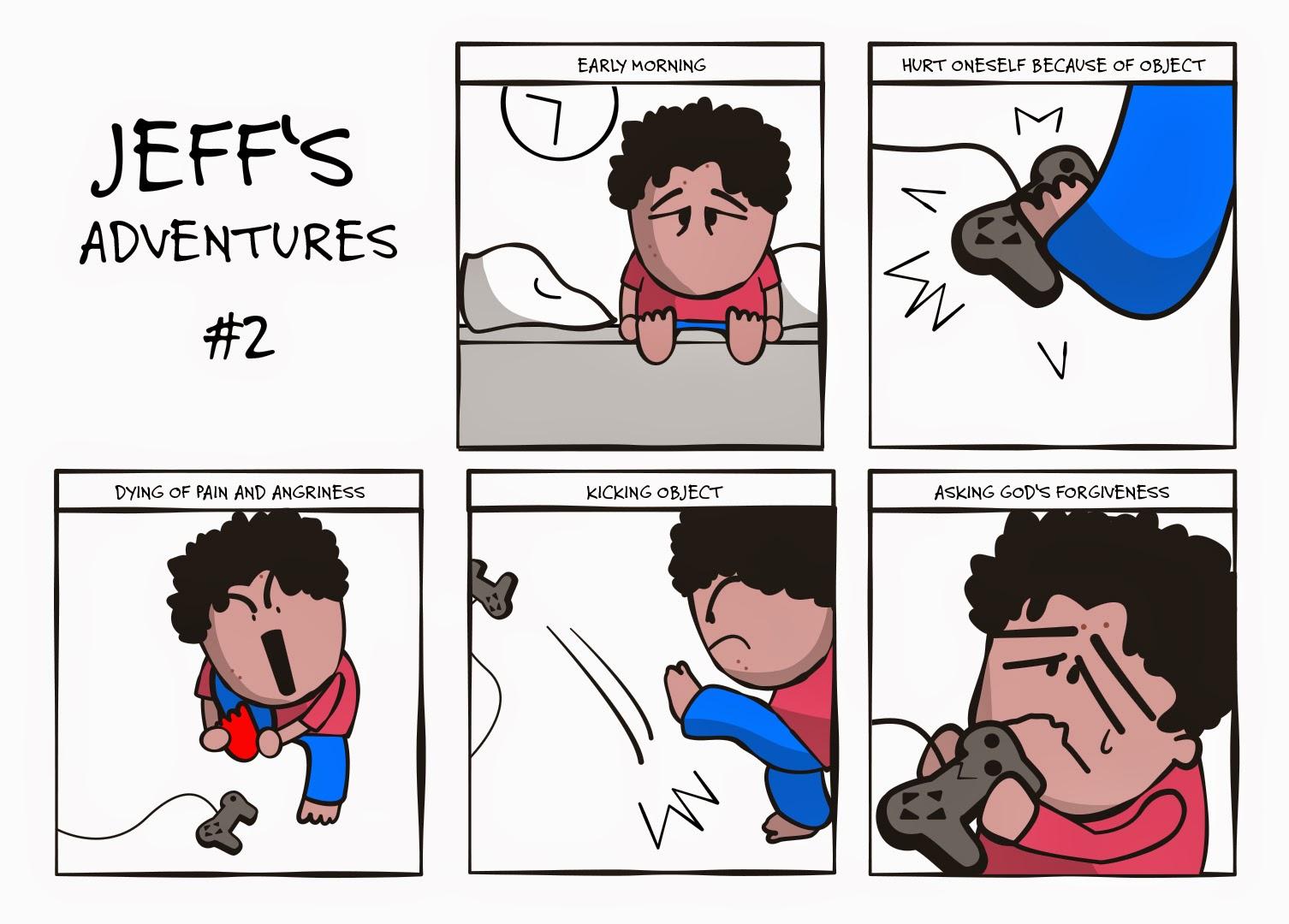JEFF'S ADVENTURES #2