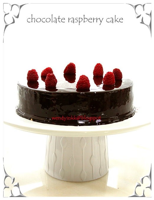 ... for 2.... or more: Chocolate Raspberry Cake - Rasps Whole Cakes #3