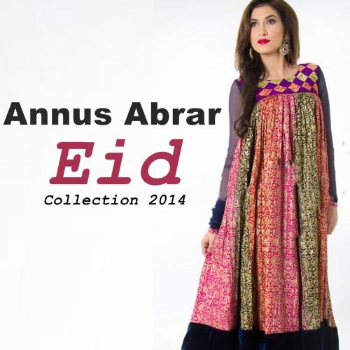 Annus Abrar Eid Collection 2014