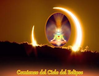 El Ciclo del Eclipse comienza este fin de semana con una nueva Luna y un Eclipse solar parcial.