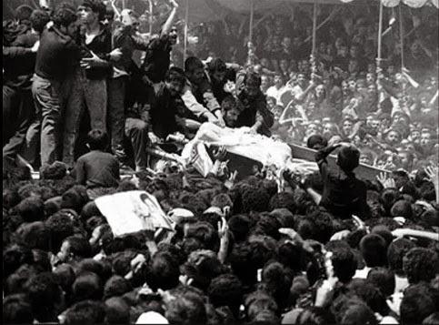 Pemakaman Khomeini Syiah Iran