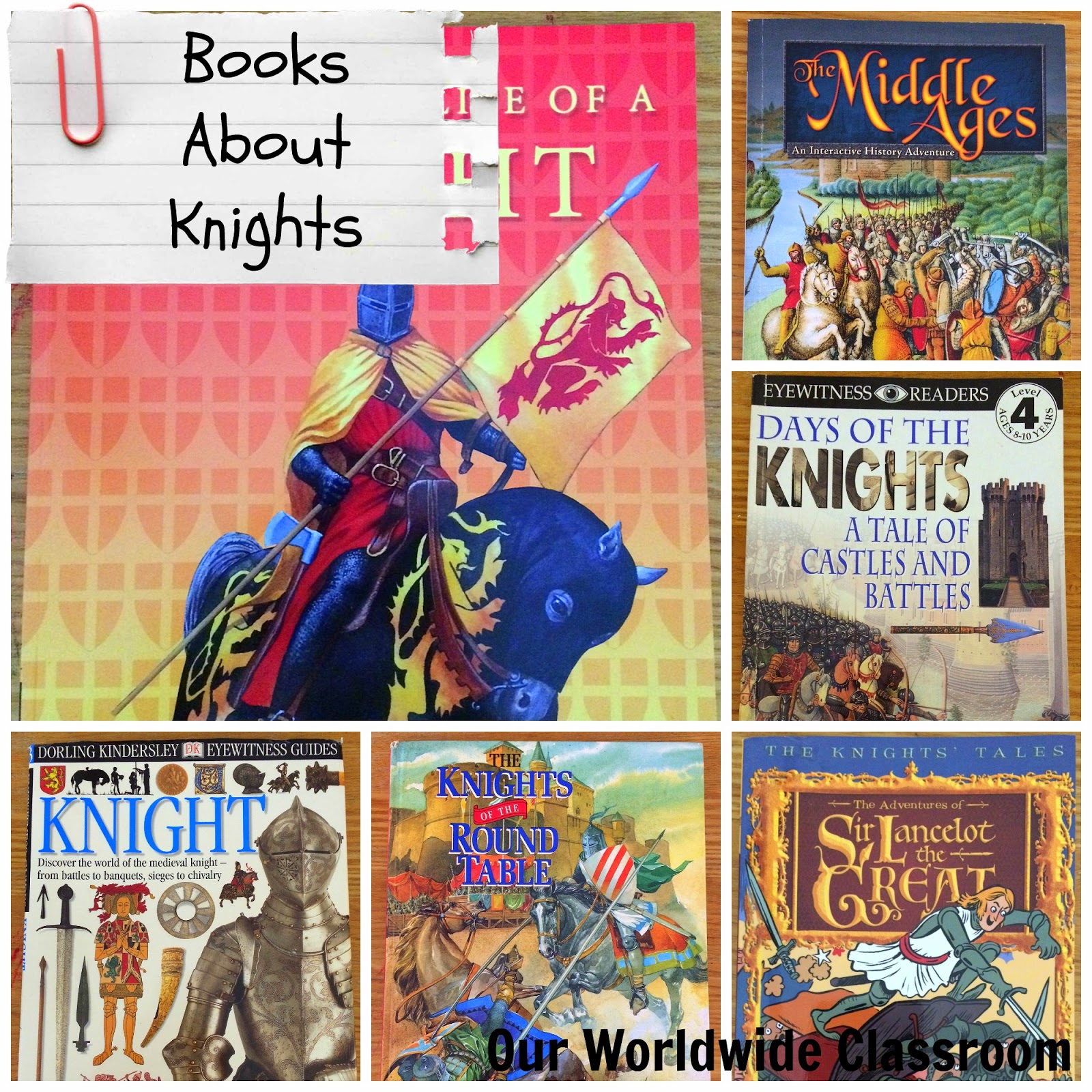Kids Books About Knights and the Middle Ages