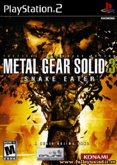 Metal Gear Solid 3 Snake Eater (PAL) Playstation 2