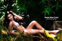 Indonesian Model Anne Margarette Hot Bikini Photos Looks Sexy