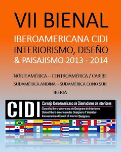 VII BIENAL IBEROAMERICANA CIDI DE INTERIORISMO