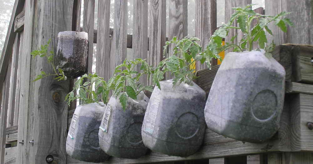Garden Ideas Using Recycled Products