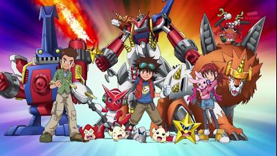 Poster Digimon Xros Wars
