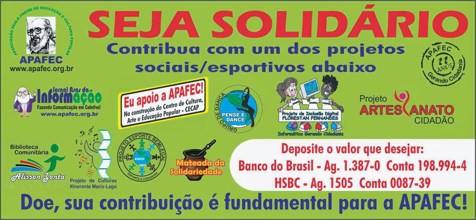 Campanha Seja Solidário!