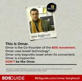 BDS hypocrisy!