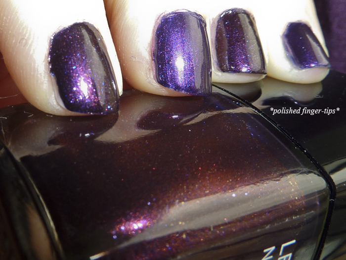 Chanel Taboo vs. Nails Inc Regent's Palace - Flash