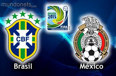COPA CONFEDERACIONES 2013 BRASIL vs. MÉXICO