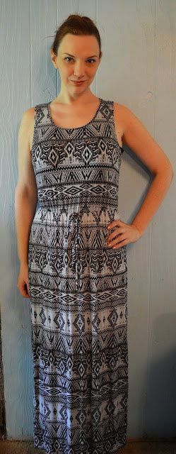 Papermoon Waters Abstract Print Maxi Dress