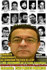 Solidaridad con Joaquín Pérez Becerra preso político en Colombia