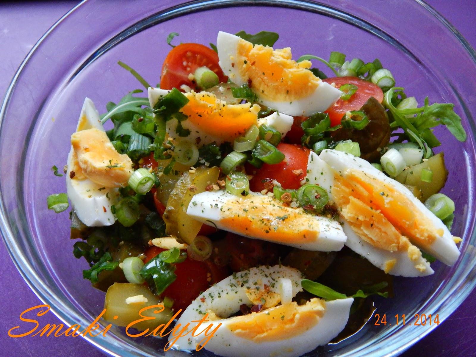 Smaki Edyty Salatka Z Jajkiem