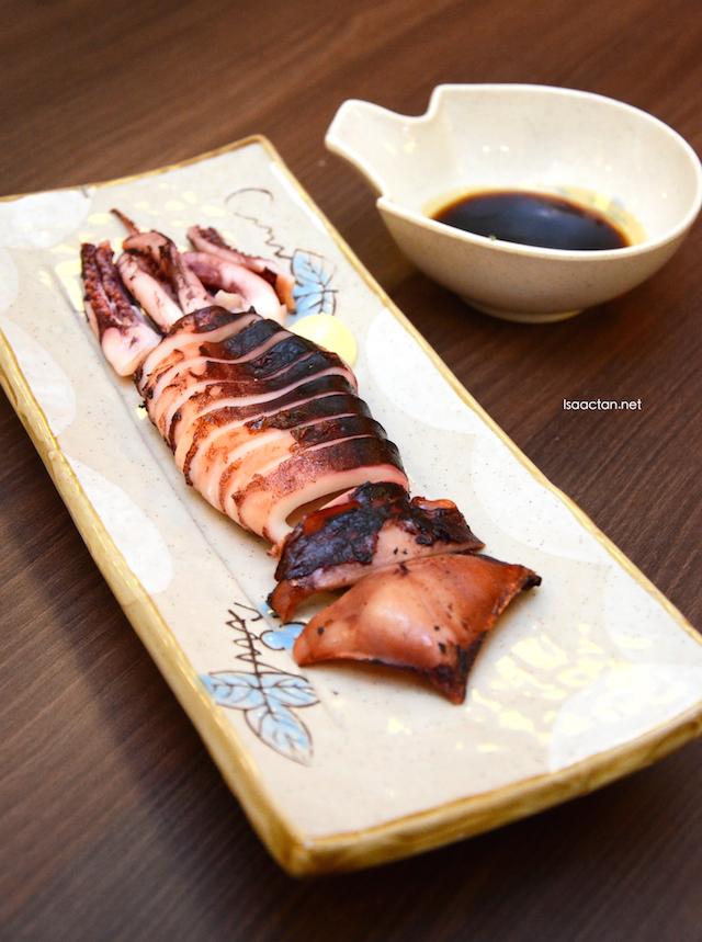 Yakitori Squid