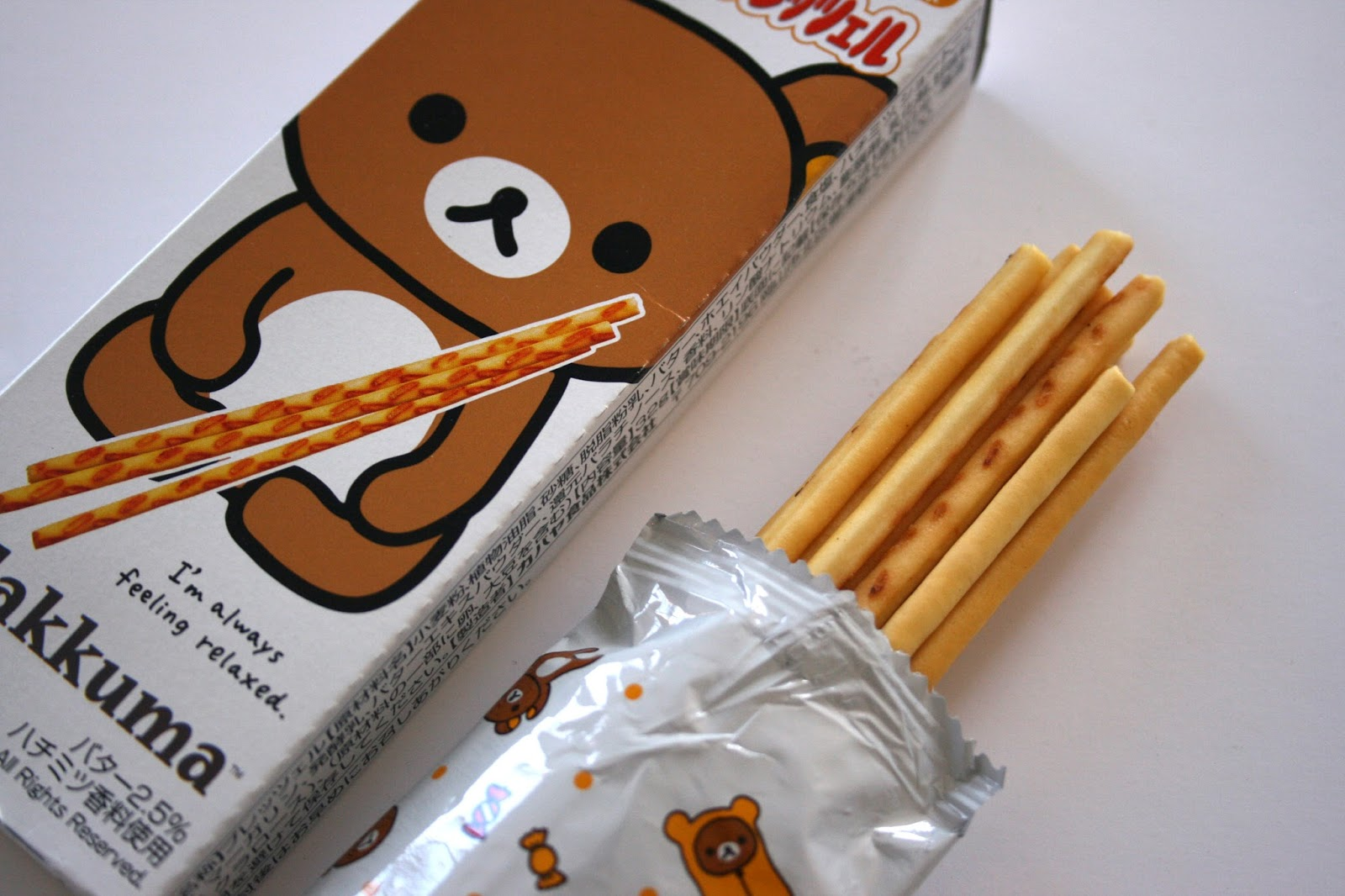 Rilakkuma-Cookie-Sticks