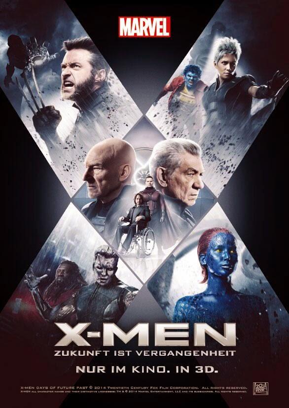 """Nuevo poster internacional de """"X-Men: Días del Futuro Pasado"""""""