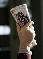 Teacher said every time a cowbell rings, Mississippi State gets a fine.