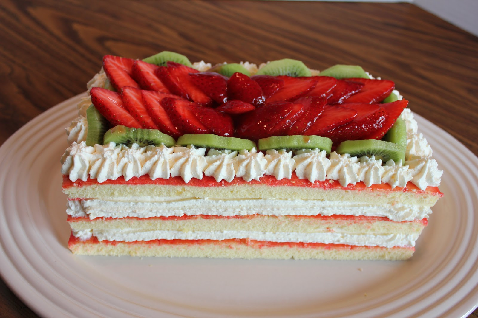 Wire Whisks & Wooden Spoons: Strawberry Cheesecake Torte