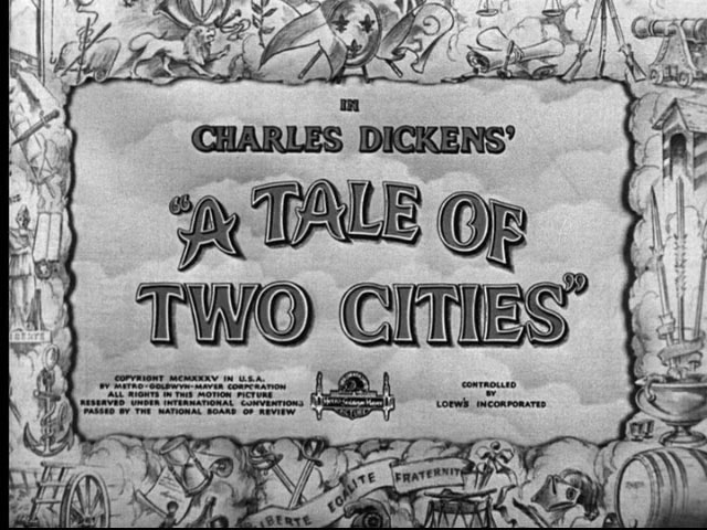 A Tale of Two Cities, Dickens, relationship