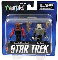 Diamond Select Star Trek Legacy Minimates - Captain Sisco & Gul Dukat Figures