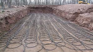 контур для геотермального отопления